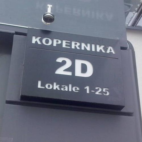 Oznaczenie budynków